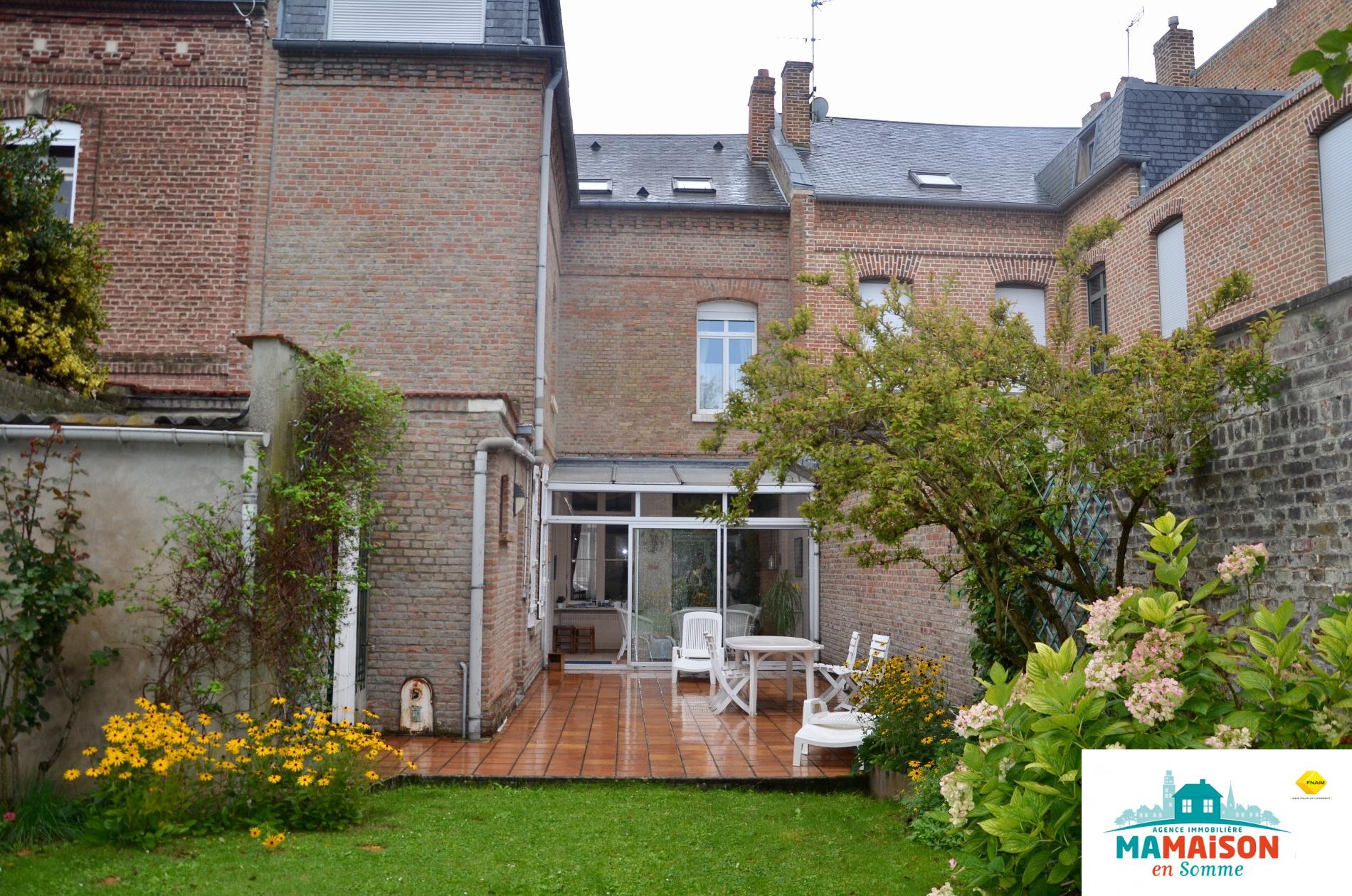 vente Henriville maison avec porte coch¨re 6 chambres jardin