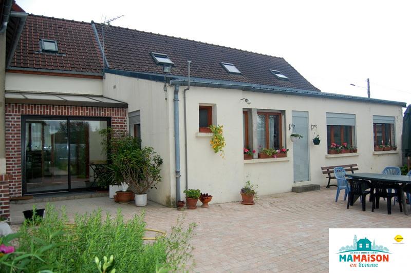 Maison de village plain pied proche Doullens