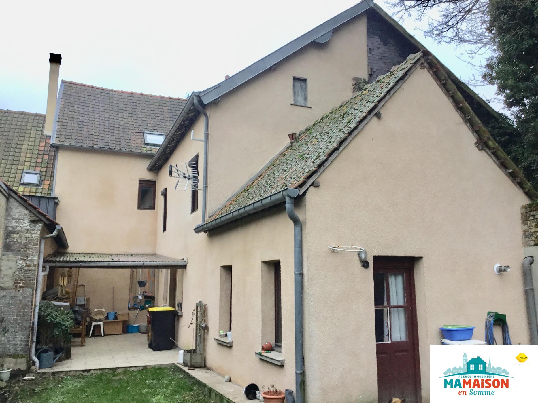 Maison 159 m2 7 pièces centre ville Doullens